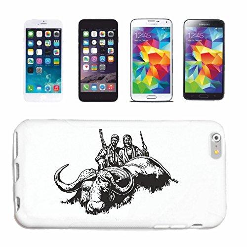 Reifen-Markt Handyhülle iPhone 7S JÄGER BEI DER GROßWILD Jagd WILD GROSSWILD REH Wildschwein Hardcase Schutzhülle Handycover Smart Cover für Apple iPhone in Weiß