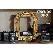 LaRetrotienda el marco de FRIENDS edición DORADA, ...
