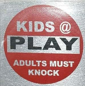 eCobbler Fun Door Sign 8X8cm Bedroom Signs - Kids @ Play