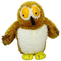 Aurora, 12874, Gruffalo Owl, 7In, Soft Toy, Brown and White, Multicoloured