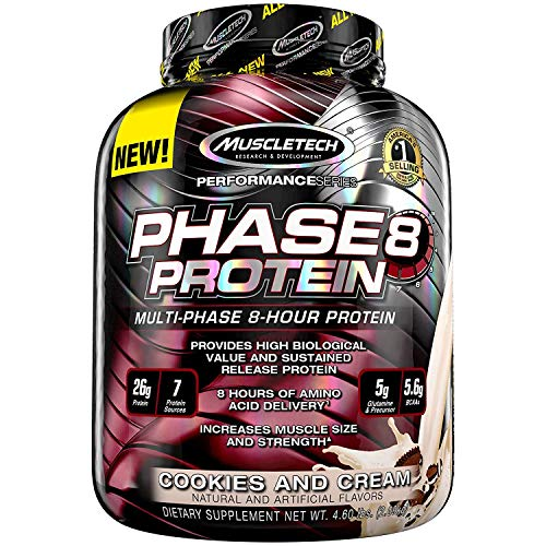 Serie Cookie (Muscletech Performance Series Phase 8 Cookies and Cream, 2100 g)