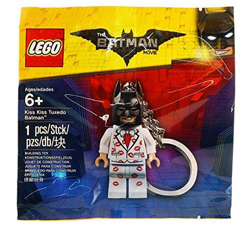 Lego Batman Movie Kiss Kiss Tuxedo Batman Keychain