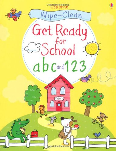 Get ready for school abc and 123 (Wipe Clean Books)