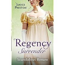 Regency Surrender: Scandalous Return: Return of Scandal's Son / Saved by Scandal's Heir (Men About Town Omnibus)