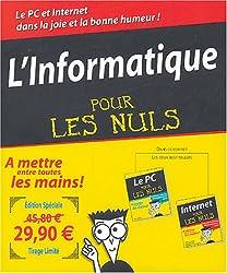 L'Informatique pour les nuls Coffret 2 volumes : Le PC ; Internet