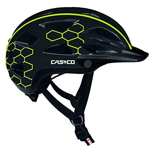 Casco Erwachsene Helm Active-TC, Techno-Schwarz, L, 15.04.0819