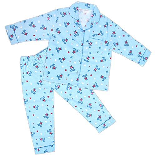 Jungen Pyjama,110/116 (Flanell-kinder-pyjama)