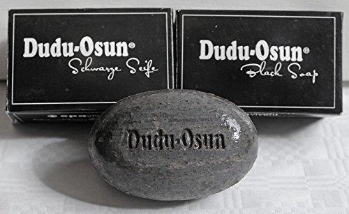 Doppel- Sparpack Dudu Osun, DIE schwarze Seife aus Afrika -