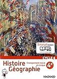 Histoire géographie, enseignement morale et civique 4e Cycle 4 - Nouveau programme 2016