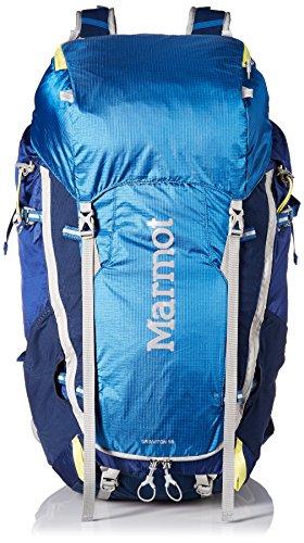 Marmot Erwachsene Graviton 58 Rucksack, Blue Night/Dark Ink, One (Erwachsene Pro Gewicht Mesh)