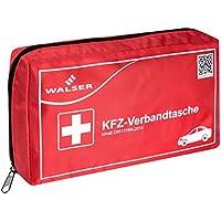 Walser 44264 KFZ PKW Auto Verbandstasche Verbandskasten mit Reißverschluss Erste Hilfe nach der DIN 13164 Norm preisvergleich bei billige-tabletten.eu
