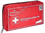 Walser 44264 KFZ PKW Auto Verbandstasche Verbandskasten mit Reißverschluss Erste Hilfe nach der DIN 13164 Norm