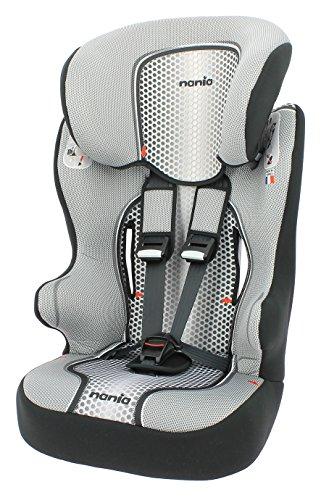 Preisvergleich Produktbild Osann Kinderautositz Racer SP Pop Black schwarz grau, 9 bis 36 kg, ECE Gruppe 1 / 2 / 3, von ca. 9 Monate bis 12 Jahre, mitwachsende Kopfstütze