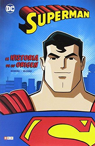 Superman: La historia de su origen por Matthew K. Manning