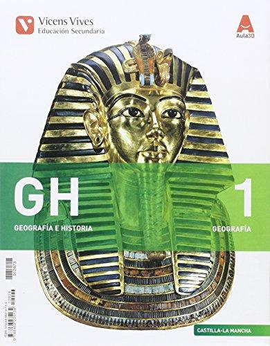 GH 1 (1.1-1.2)+ CAST-LA MANCHA SEP GEO+ HIST: GH 1. Castilla La Mancha.Libro 1,2 Y Separata Geografía, Historia. Aula 3D: 000003 - 9788468235134