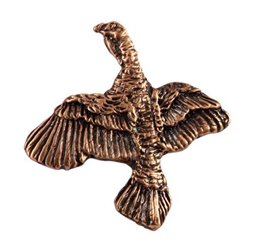 Kupfer ~ Türkei, Brosche/Anstecknadel ~ klein ~ bc042