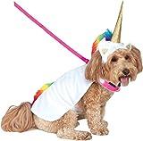 Rubies Costume Company Einhorn Umhang mit Kapuze und Tricks Halsband Pet Kostüm