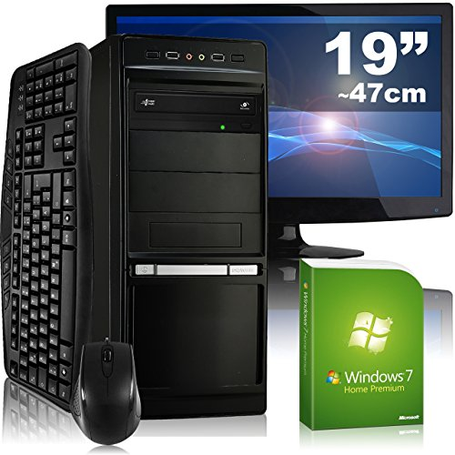 Allround-PC-tronics24-Optimus-a5324M-Komplett-Set-AMD-A4-5300-2x-34GHz-8GB-RAM-AMD-Radeon-R7-240-2GB-500GB-HDD-DVD-RW-Gigabit-LAN-71-Sound-Win7HP-47cm-19-TFT-Tastatur-Maus