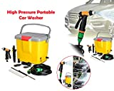 #7: Mini and Portable Powerful Electric Car Washer Pump, Water Pump High Pressure Wash Gun For Garden/Car/Bike/Pet Wash | High Pressure portable Car Wash | Pressure Washing Multifunctional Water Spray Jet Gun Hose Pipe | portable car washer pump | portable car wash kit | portable car wash machine |