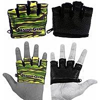 Preisvergleich für Ultra Greifer Cameo V1Gewichtheben Handschuhe von jasons Gear mit Kabelführung Gummierte Grip Palm und extra Polsterung für Komfort und Hornhaut Schutz. Geeignet für Gewichtheben, WOD, Crossfit, Kreuz Training, Fitness, Bodybuilding, Fitnessstudio