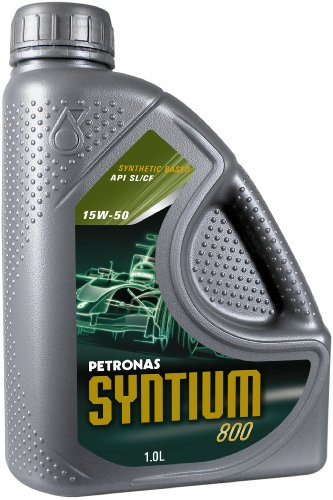 Petronas SYNTIUM 800 15W-50 Synthetisches Motorenöl, 1 Liter
