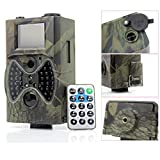 """SSCJ Trail Wildlife Kamera 12MP 1080P Jagdkamera Motion Aktivierte Nachtsicht-Spiel-Kamera mit 2""""LCD-Display IP65 wasserdicht für Wildlife Wildlife Jagd und Sicherheit"""
