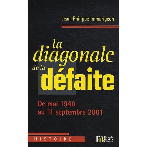La diagonale de la défaite