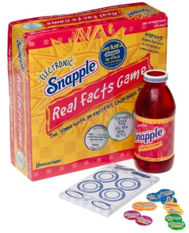 snapple-real-facts-game