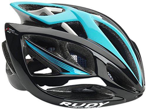 Rudy Project Airstorm Helmet Black-Blue (Shiny) Kopfumfang 54-58 cm 2017 mountainbike helm downhill