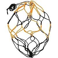 Forfar Bolsa de nylon de la red 1 PC Pelota lleva Malla de voleibol Baloncesto Amarillo negro Futbol Campeonato de fútbo