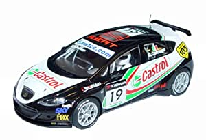 """Hornby France - C2912 - Scalextric - Voiture  - Seat Leon """"Castrol"""""""