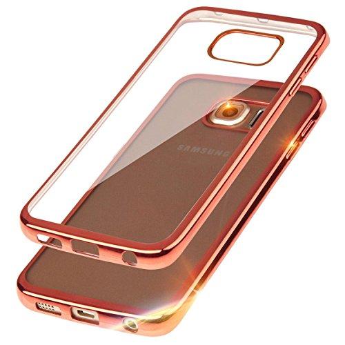 ego-mobile-cover-in-tpu-con-retro-trasparente-e-bordo-colorato-effetto-metallizzato-rosa-rame-samsun