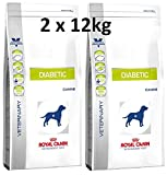 Royal Canin Veterinary Diet Canine Diabetic 2 x 12 kg