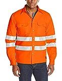 Jobman Gefüttertes Hemd, 1 Stück, XXL, warnorange, 515667-3100-8