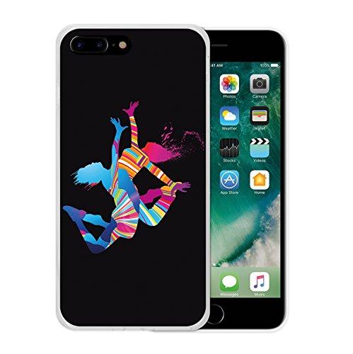 iPhone 7 Plus Hülle, WoowCase Handyhülle Silikon für [ iPhone 7 Plus ] Baseball Handytasche Handy Cover Case Schutzhülle Flexible TPU - Transparent Housse Gel iPhone 7 Plus Transparent D0017