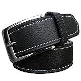 Zacharias Men's Premium Belt Black