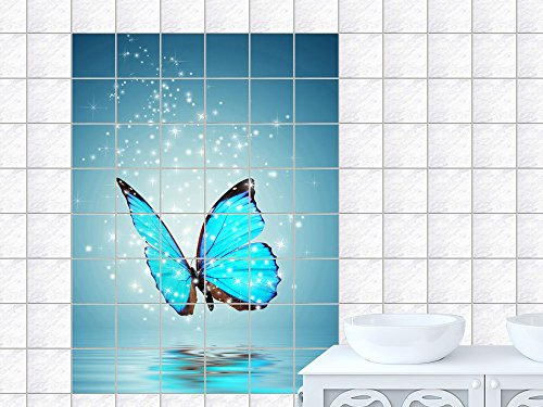 tile-stickers-tile-stickers-flying-glitter-stars-water-picture-format120x180cmwxh-tile-size-25-x-25-