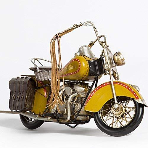 MWPO Decoured American Retro Indian Modello di Moto Ornamenti Studio di Arredamento per la casa Soggiorno TV Armadietto da scrivania Display Creativo Abbigliamento Negozio Vetrina Indiano Class