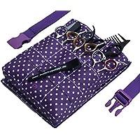 Punkte Lila Friseurtasche Friseur-Werkzeugtasche