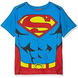 Camiseta de Superman para Niños, Azul (Blue 18-4247 TC), 8 Años
