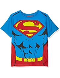 DC Comics Boy's Superman Cape T-Shirt