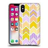 Head Case Designs Sunshine Village Chevron Und Pfeile Soft Gel Hülle für Apple iPhone X