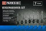 Parkside Versenkbohrer-Set 275241