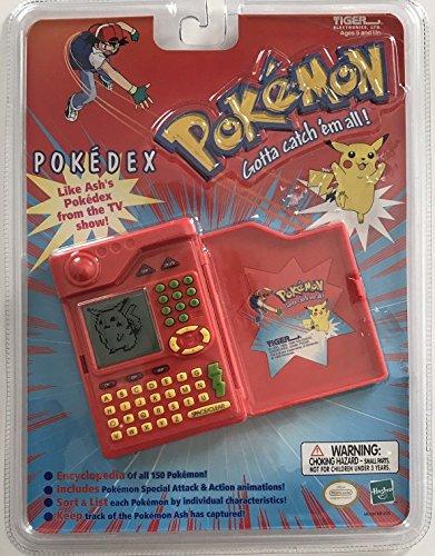 Pokemon Pokedex Organizer Electronic Handheld Game by Tiger Electronics (Elektronische Pokemon Pokedex)
