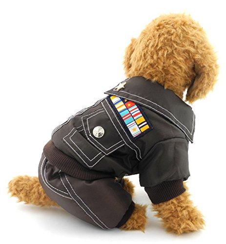 ranphy Kleiner Hund Katze Camo Jumpsuit Hund Military Jacket Fleece Jacke gefüttert Fell Winter alle Body, Run Kleine, den nächsten bis Größe bitte (Cinderella Deluxe Kleid)