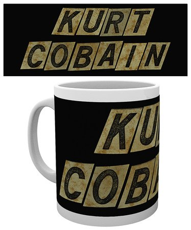 GB eye, Kurt Cobain, Name, Tazza