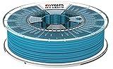 Formfutura 175HDGLA-LIBLUE-0750 3D Printer Filament, PETG, Blinded Hellblau