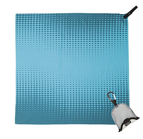 Packtowl Nano ultrakompaktes Nano-Handtuch (Teal Pixel)