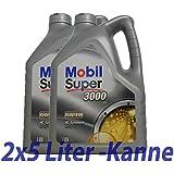 MOTOR OEL 5W40 SUP 3000 2x5L X1 - 558.34.89 - Mobil Super 3000 X1 5W-40 -