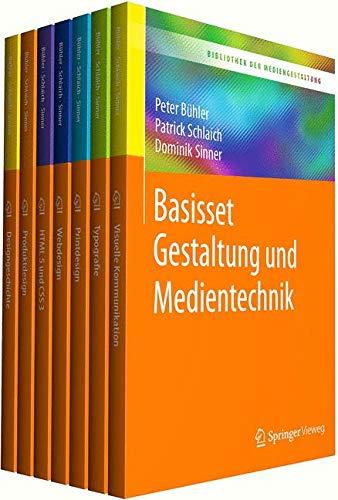 Bibliothek der Mediengestaltung - Basisset Gestaltung und Medientechnik: Berufliche Gymnasien, Berufskollegs und Berufsfachschulen